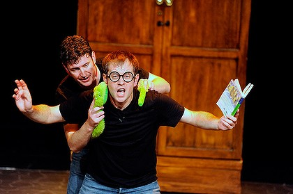 Daniel Clarkson and Jefferson Turner in Potted Potter