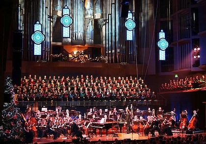 The Spirit of Christmas concerts at QPAC are a seasonal highlight. Photo: Supplied