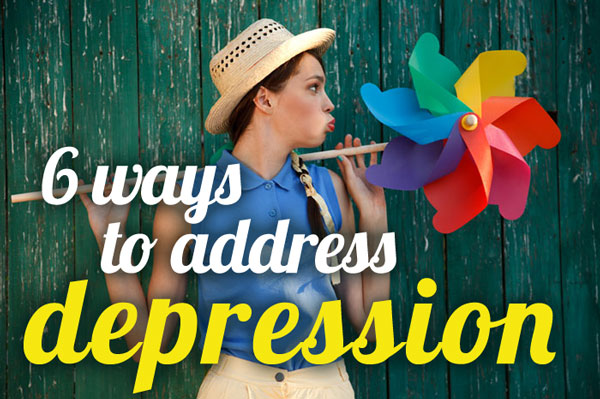 6 ways to address depression